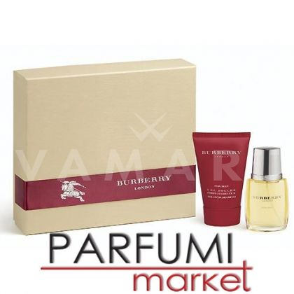 Burberry for Men Eau de Toilette 50ml + Shower Gel 100ml мъжки комплект