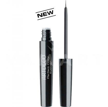 Artdeco Perfect Color Eyeliner Очна линия със специална четка и матово покритие 01 black