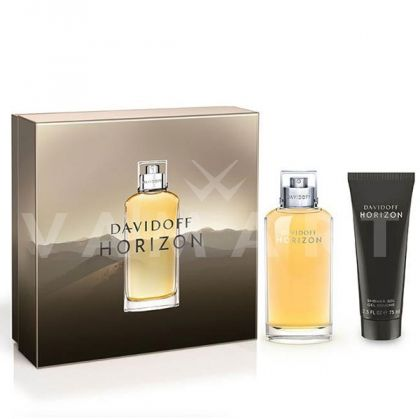 Davidoff Horizon Eau de Toilette 75ml + Shower Gel 75ml мъжки комплект