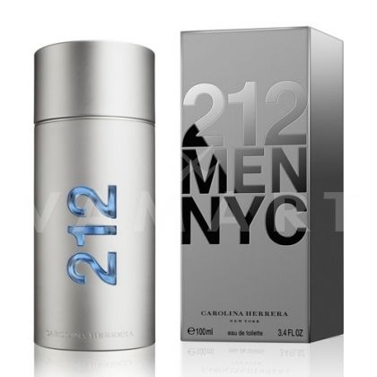 Carolina Herrera 212 Men Eau de Toilette 100ml мъжки без кутия