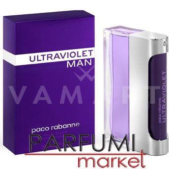 Paco Rabanne Ultraviolet Man Eau de Toilette 100ml мъжки без кутия