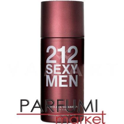 Carolina Herrera 212 Sexy Men Deodorant Spray 150ml мъжки