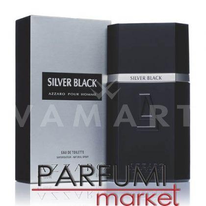 Azzaro Silver Black Eau de Toilette 100ml мъжки без кутия