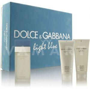 Dolce & Gabbana Light Blue Eau de Toilette 100ml + Body Cream 100ml + Shower Gel 100ml дамски комплект