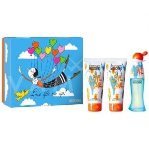 Moschino Cheap and Chic I Love Love Eau de Toilette 50ml + Body Lotion 100ml + Shower Gel 100ml дамски комплект