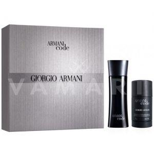 Armani Code Pour Homme Eau de Toilette 75ml + Deodorant Stick 75ml мъжки комплект