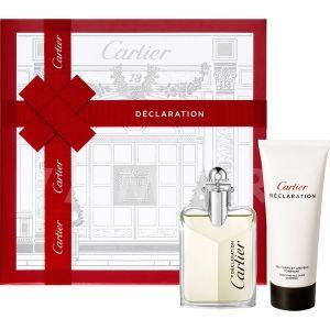 Cartier Declaration Eau de Toilette 50ml + Shower Gel 100ml мъжки комплект