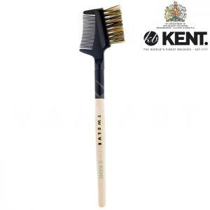 Kent. Twelve Eye Grooming Brush Четка за грим за вежди с гребен