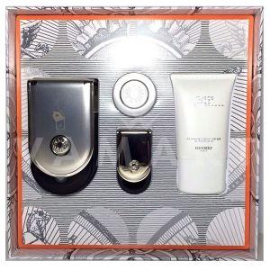 Hermes Voyage d'Hermes Eau de Parfum 100ml + Eau de Parfum 5ml + Shower Gel 30ml + Body Lotion 10ml унисекс комплект