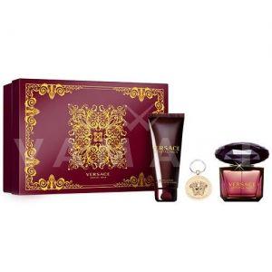 Versace Crystal Noir Eau de Parfum 90ml + Body Lotion 100ml + Ключодържател дамски комплект