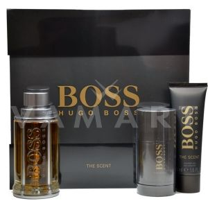 Hugo Boss Boss The Scent Eau de Toilette 100ml + Shower Gel 50ml +  Deodorant Stick 75ml мъжки комплект