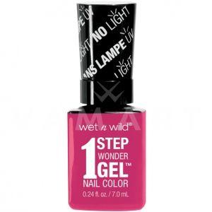 Wet n Wild Гел Лак за нокти 1 Step WonderGel Nail Color 7231 It's Sher-Bert Day!