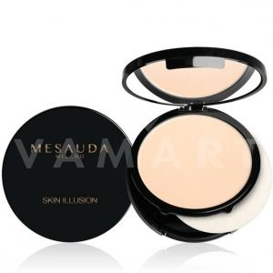 Mesauda Milano Skin Illusion Compact Cream Foundation 04 Light Beige