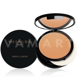Mesauda Milano Skin Illusion Compact Cream Foundation 06 Natural Tan