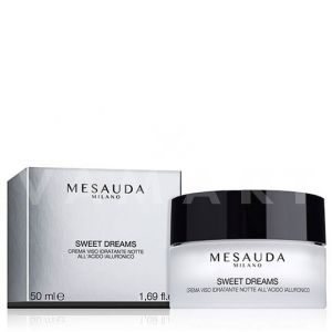 Mesauda Milano Skin Care Sweet Dreams Moisturizing Overnight Face Cream Овлажняващ нощен крем за лице