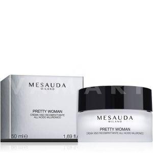 Mesauda Milano Skin Care Pretty Woman Re-compacting face cream Уплътняващ Лифтинг крем за лице с хиалуронова киселина