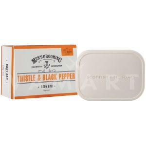 Scottish Fine Soaps Thistle & Black Pepper Soap 200g луксозен сапун