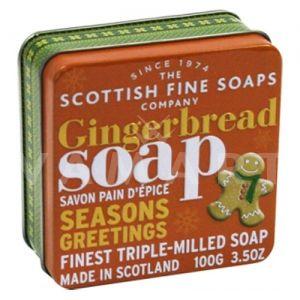 Scottish Fine Soaps Сапун в метална кутия Gingerbread Soap 100g