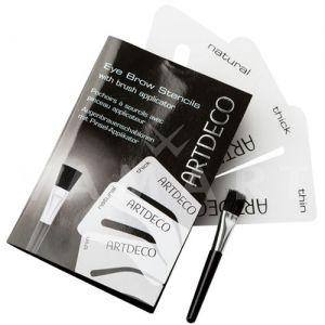 Artdeco Eye Brow Stencils Апликатор за вежди с 3 шаблона