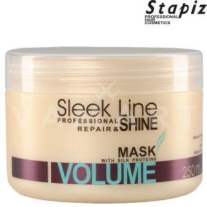 Stapiz Sleek Line Volume Mask Регенерираща маска за обем с копринен протеин 250ml