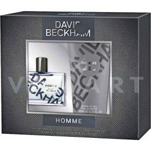 David Beckham Homme Eau de Toilette 30ml + Shower Gel 200ml мъжки комплект
