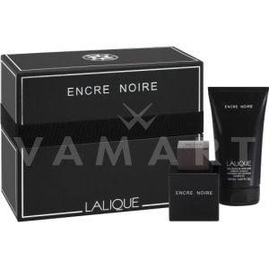 Lalique Encre Noire pour homme Eau de Toilette 100ml + Hair & Body Shower Gel 150ml мъжки комплект