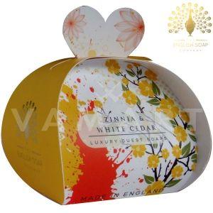 The English Soap Company Luxury Gift Zinnia & White Cedar Луксозен сапун 3 x 20g