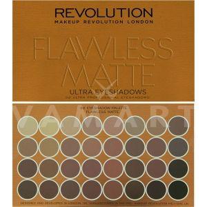 Makeup Revolution London Ultra 32 Shade Flawless Matte Eyeshadow Palette Палитра сенки 32 цвята
