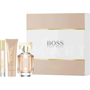 Hugo Boss Boss The Scent For Her Eau de Parfum 50ml + Body Lotion 50ml + Eau de Parfum 7,4ml дамски комплект