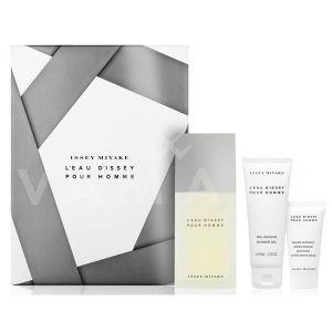 Issey Miyake L'Eau d'Issey Pour Homme Eau de Toilette 125ml + Shower Gel 75ml + After Shave Balm 50ml мъжки комплект