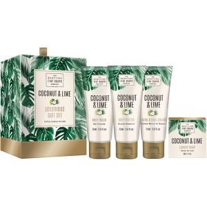 Scottish Fine Soaps Coconut & Lime Козметичен комплект за тяло 4 продукта