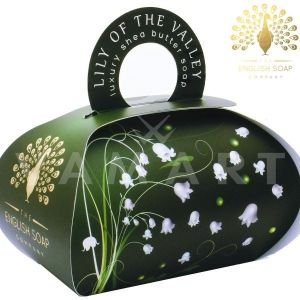 The English Soap Company Luxury Gift Lily of the Valley Луксозен сапун 260g