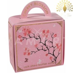 The English Soap Company Luxury Gift Cherry Blossom Луксозен сапун 100g
