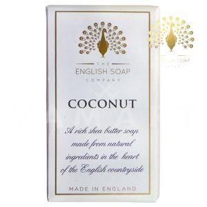 The English Soap Company Pure Coconut Луксозен растителен сапун 200g