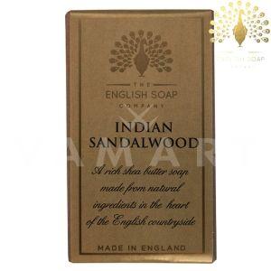 The English Soap Company Pure Indian Sandalwood Луксозен растителен сапун 200g