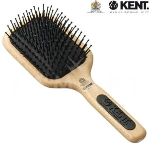 Kent. Hair Brush Perfect For Taming Unruly, Nightmare Hair Четка за коса дървена