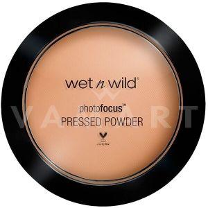 Wet n Wild Photo Focus Pressed Powder Компактна пудра 826 Golden Tan