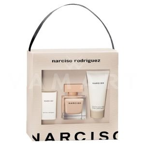Narciso Rodriguez Narciso Poudree Eau de Parfum 50ml + Body Cream 50ml + Ароматна свещ 40g дамски комплект