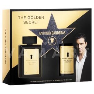 Antonio Banderas The Golden Secret Eau de Toilette 100ml + Deodorant spray 150ml мъжки комплект