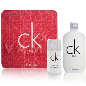 Calvin Klein CK One Eau de Toilette 100ml + Deodorant Stick 75ml унисекс комплект
