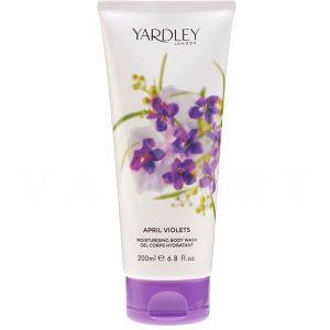 Yardley London April Violets Moisturising Bogy Wash 200ml дамски