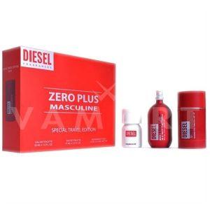 Diesel Zero Plus Masculine Eau de Toilette 75ml + Deodorant stick 75ml + Plus Plus Masculine Eau de Toilette 30ml мъжки комплект