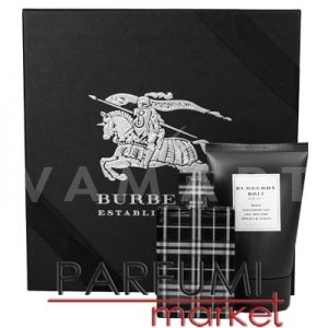 Burberry Brit For Men Eau de Toilette 50ml + Shower Gel 100ml мъжки комплект