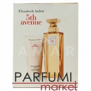 Elizabeth Arden 5th Avenue Eau de Parfum 125ml + Body Lotion 100ml дамски комплект