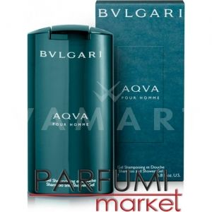 Bvlgari AQVA pour Homme Shampoo & Shower Gel 200ml мъжки